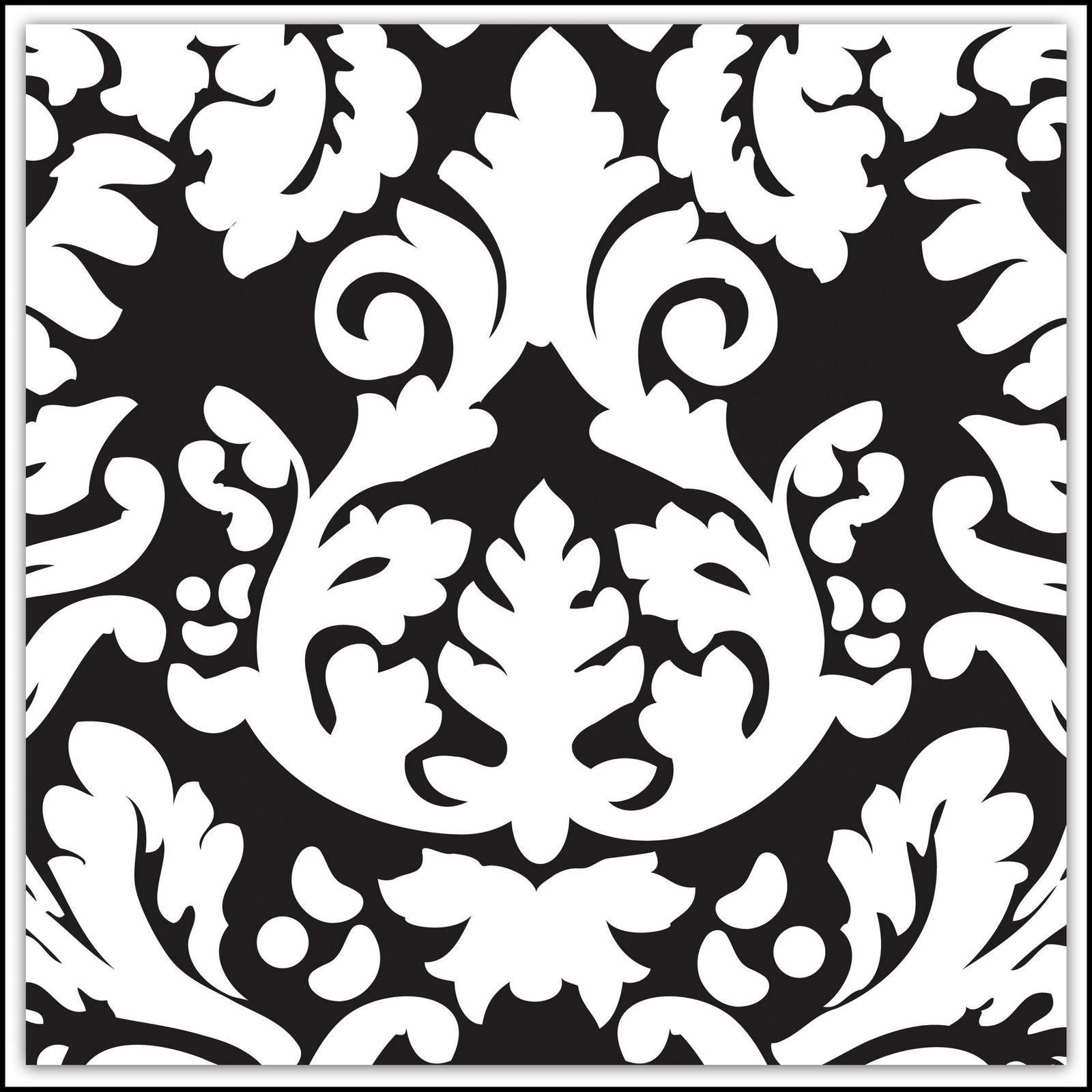 Damask Clip Art 081110» Vector Clip Art - Free Clip Art Images