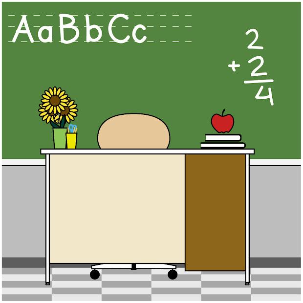 Free Clip Art Teacher 081310 Vector