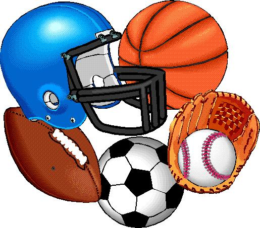 sports clip clipart football vector sport athletic athletics play cartoon sportsclipart pe athlete designs equipment