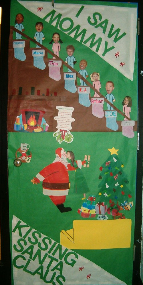 Christmas Door Decoration 011211 Vector Clip Art - Free ...