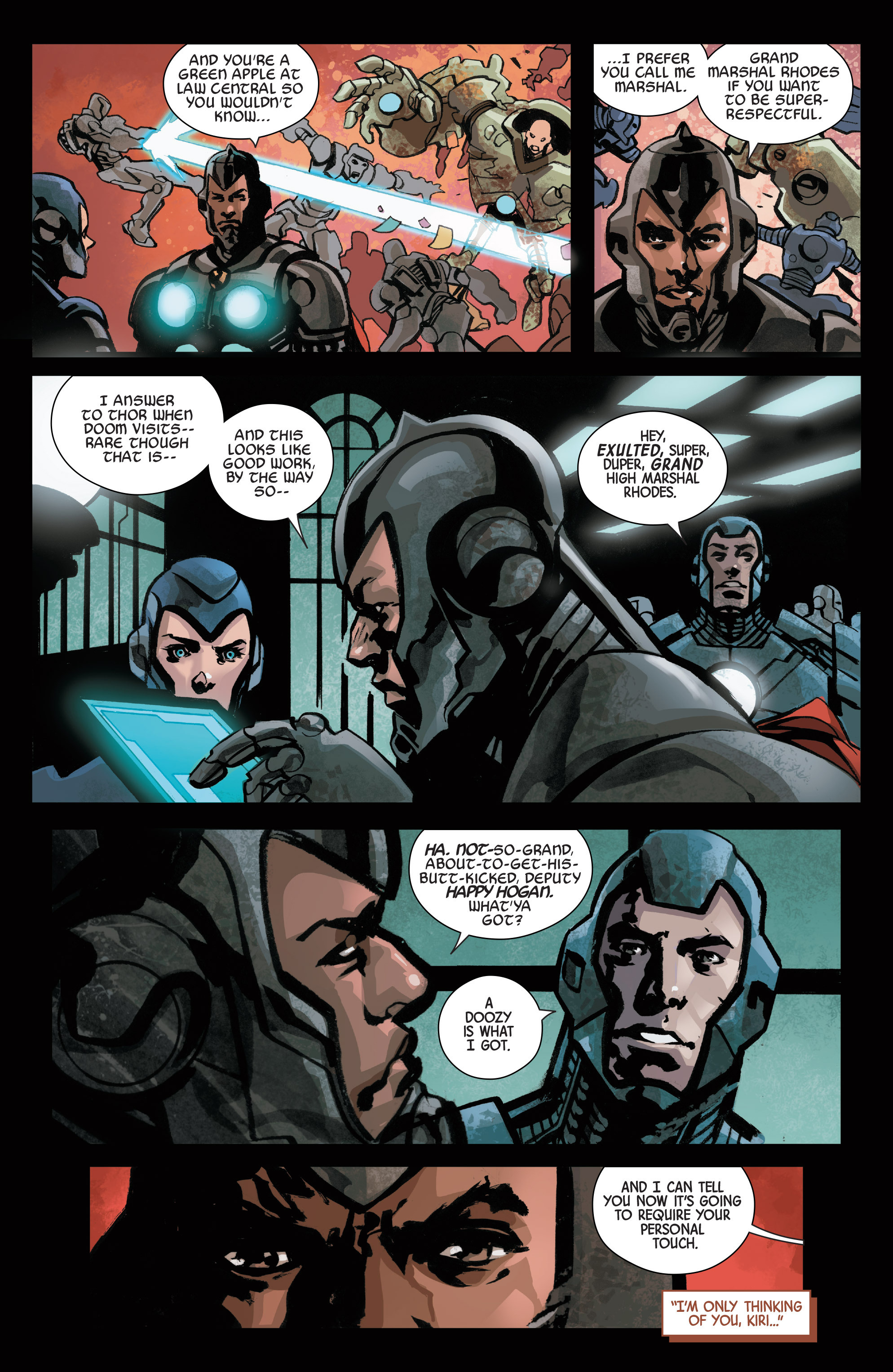 Read online Armor Wars comic -  Issue #1 - 15