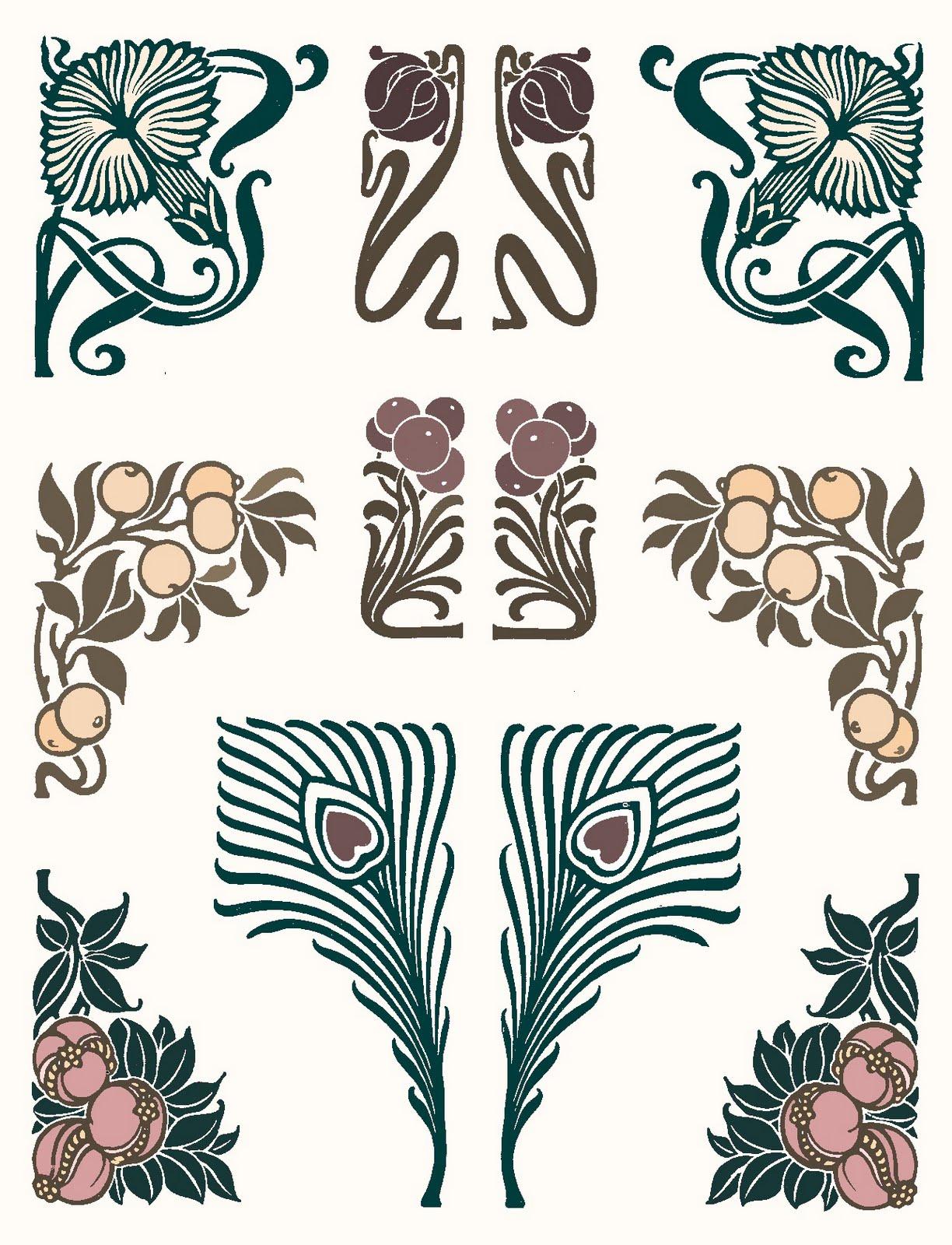 art deco tattoo on pinterest art nouveau tattoo nouveau tattoo and art. Black Bedroom Furniture Sets. Home Design Ideas
