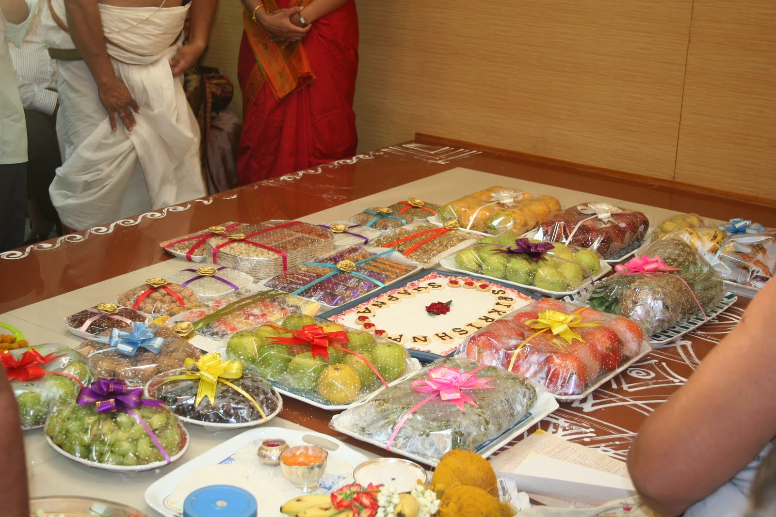 Annaprashana  Engagement  Nichayathartham Seer decoration   Home     Annaprashana  Engagement  Nichayathartham Seer decoration 25 Adorable Ideas  to Decorate Your Home for Your Engagement Party  Are you thinking of  hosting