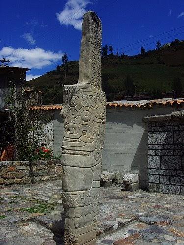Escultura Chavin : Historia Universal