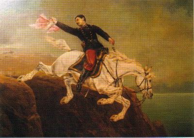 Alfonso ugarte en el morro de arica