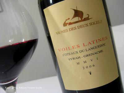 Vignes Des Deux Soleils, Voiles Latines | Arthurs Tochter kocht von Astrid Paul. Der Blog für Food, Wine, Travel & Love
