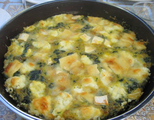 Spinat-Tortilla mit Ziegenkäse, Rezept von Lafer  | Arthurs Tochter kocht von Astrid Paul. Der Blog für Food, Wine, Travel & Love