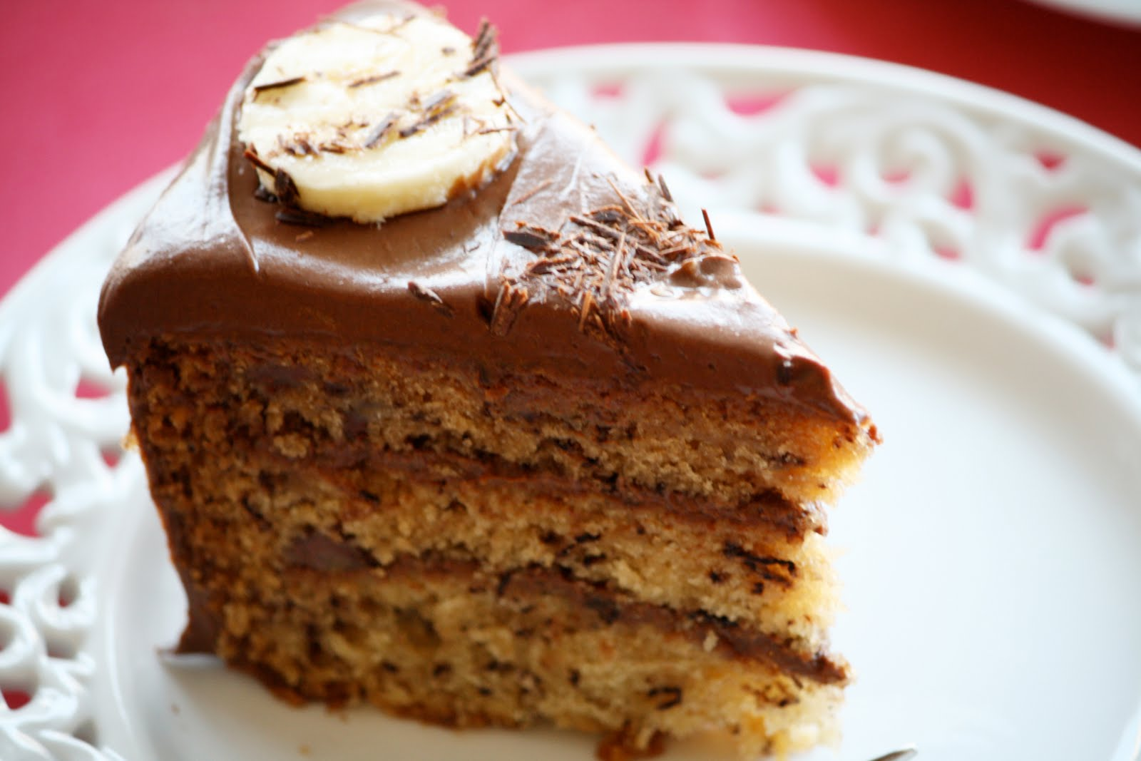 Chocolate Cake Recipe Moist Uk: Edible Moments: Extremely Moist Banana Cake With Sour