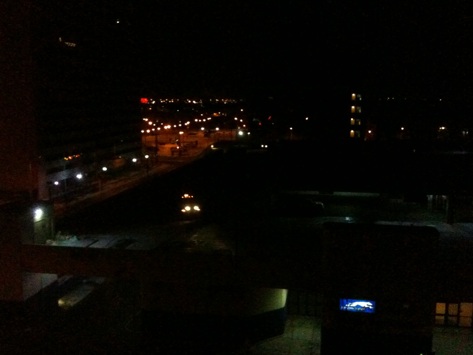 A Bob's Life: Out the Hotel Window - Denver