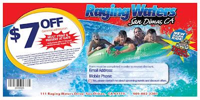 Los Angeles Travel: Summer Hot Deal Raging Waters in Los