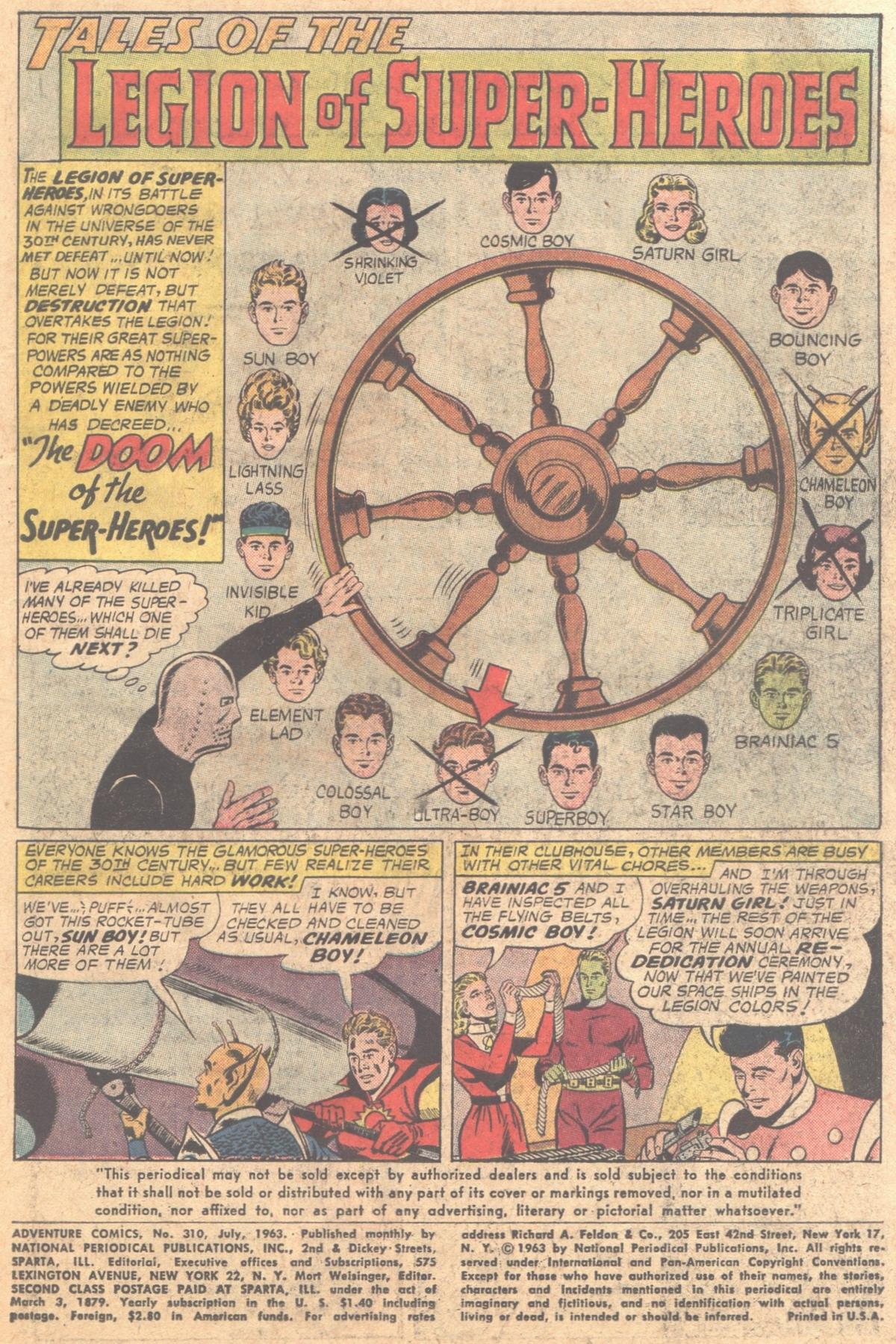 Read online Adventure Comics (1938) comic -  Issue #310 - 3