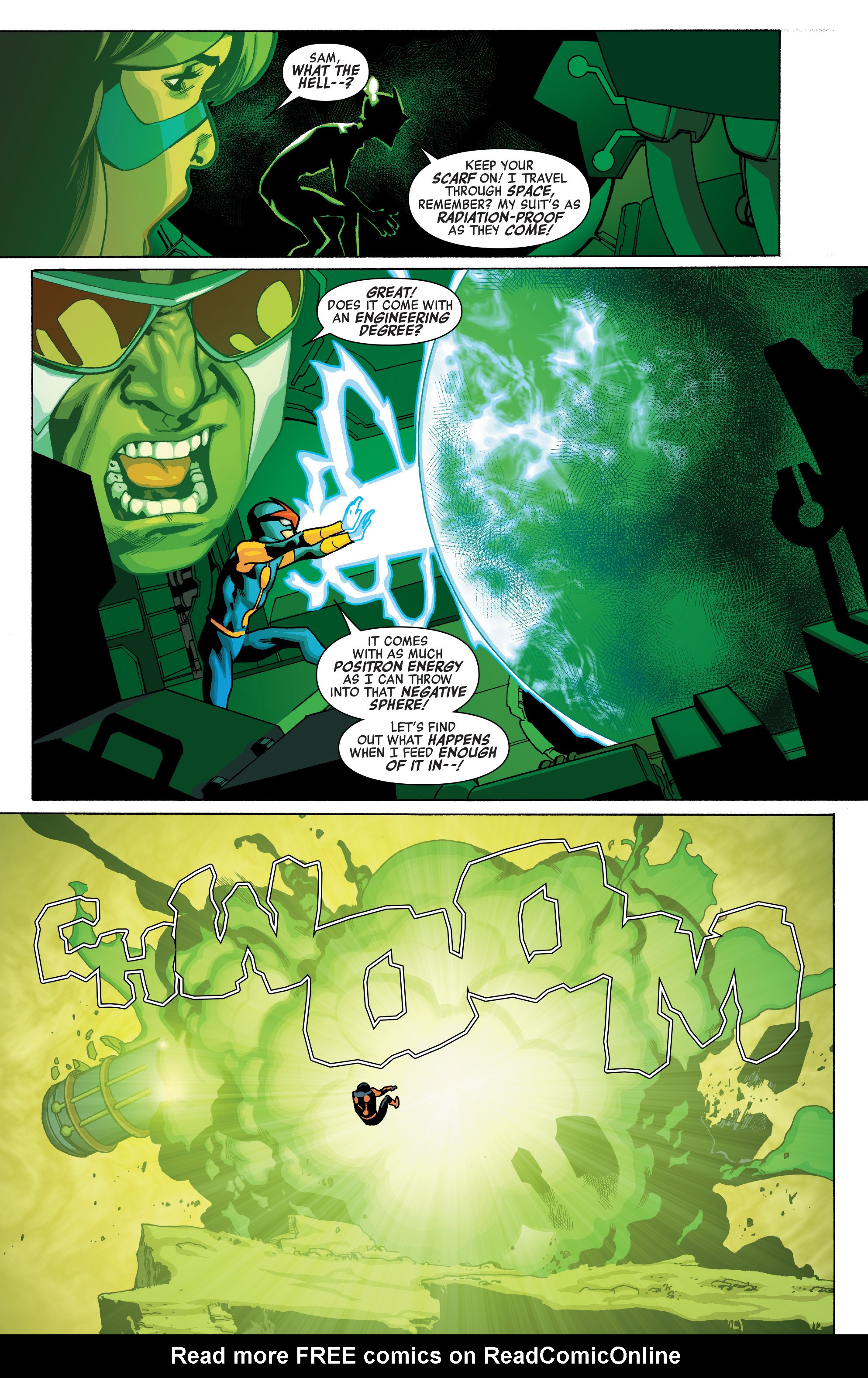 Read online All-New, All-Different Avengers comic -  Issue #12 - 15