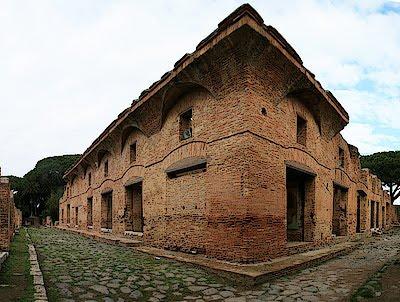 Ostia antica lazio for Stili di progettazione del piano casa della nigeria