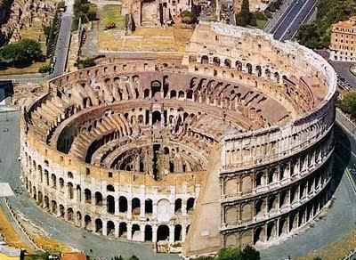Colosseo anfiteatro flavio for Colosseo da colorare