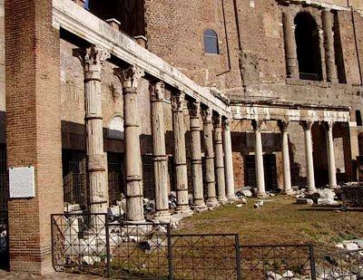 I portici di roma for Come aggiornare le colonne del portico anteriore