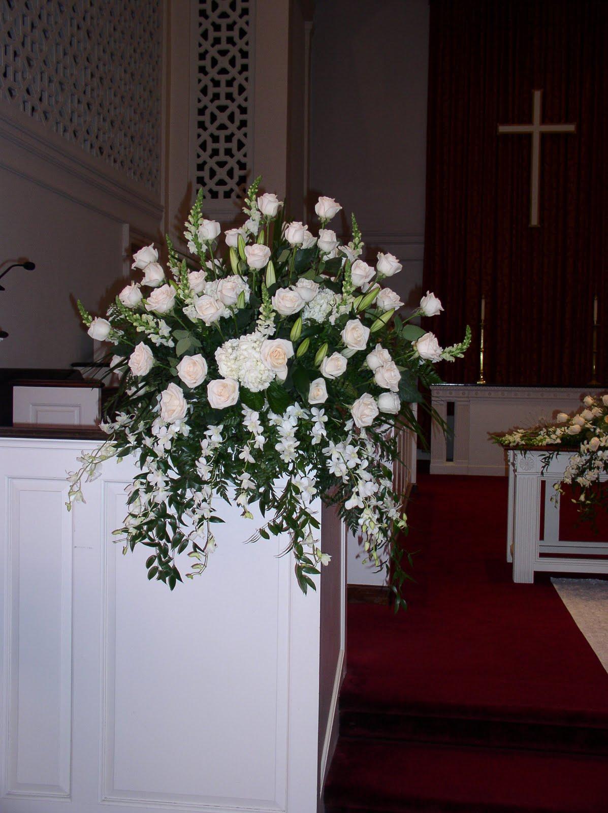 Sharon S Flowers Church Arrangements