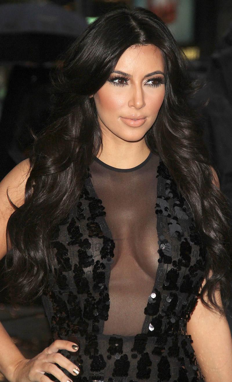 Kim kardashian boob