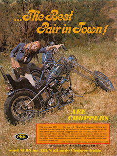 AEE Choppers: Ad for the new nude catalog