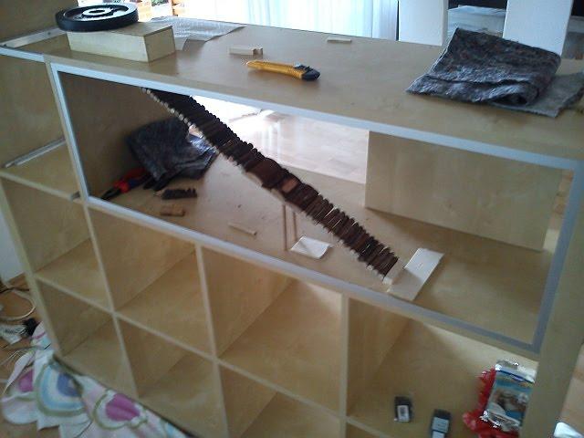 naturnahe hamstergehege 9234cm im expedit f r roborowski. Black Bedroom Furniture Sets. Home Design Ideas