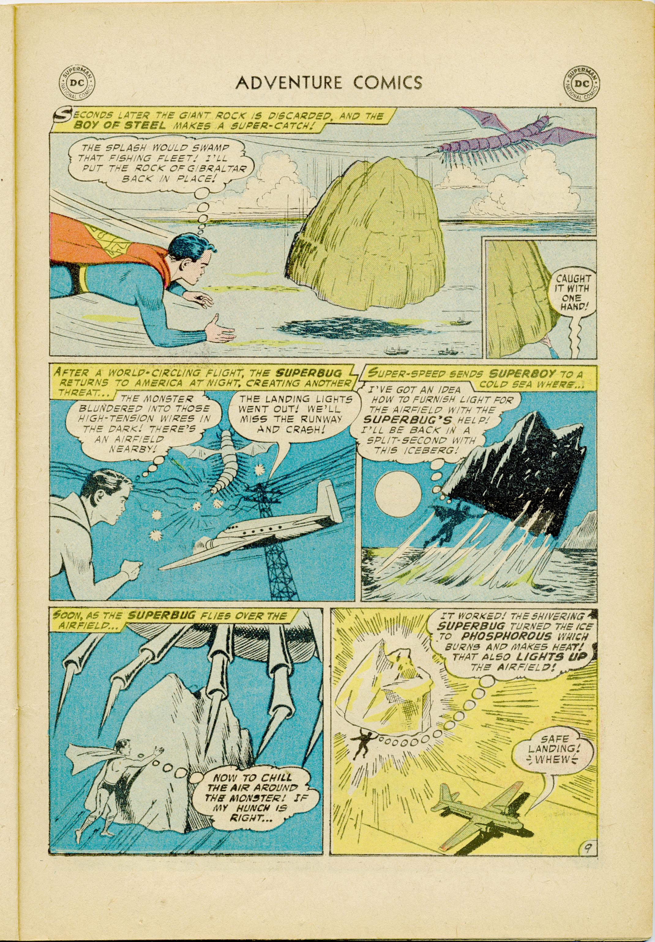 Read online Adventure Comics (1938) comic -  Issue #245 - 11