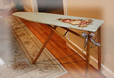 First A Dream Wooden Ironing Board