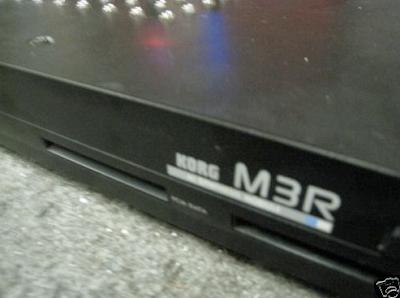 Waveformless: Circuit Bent Korg M3R on Ebay