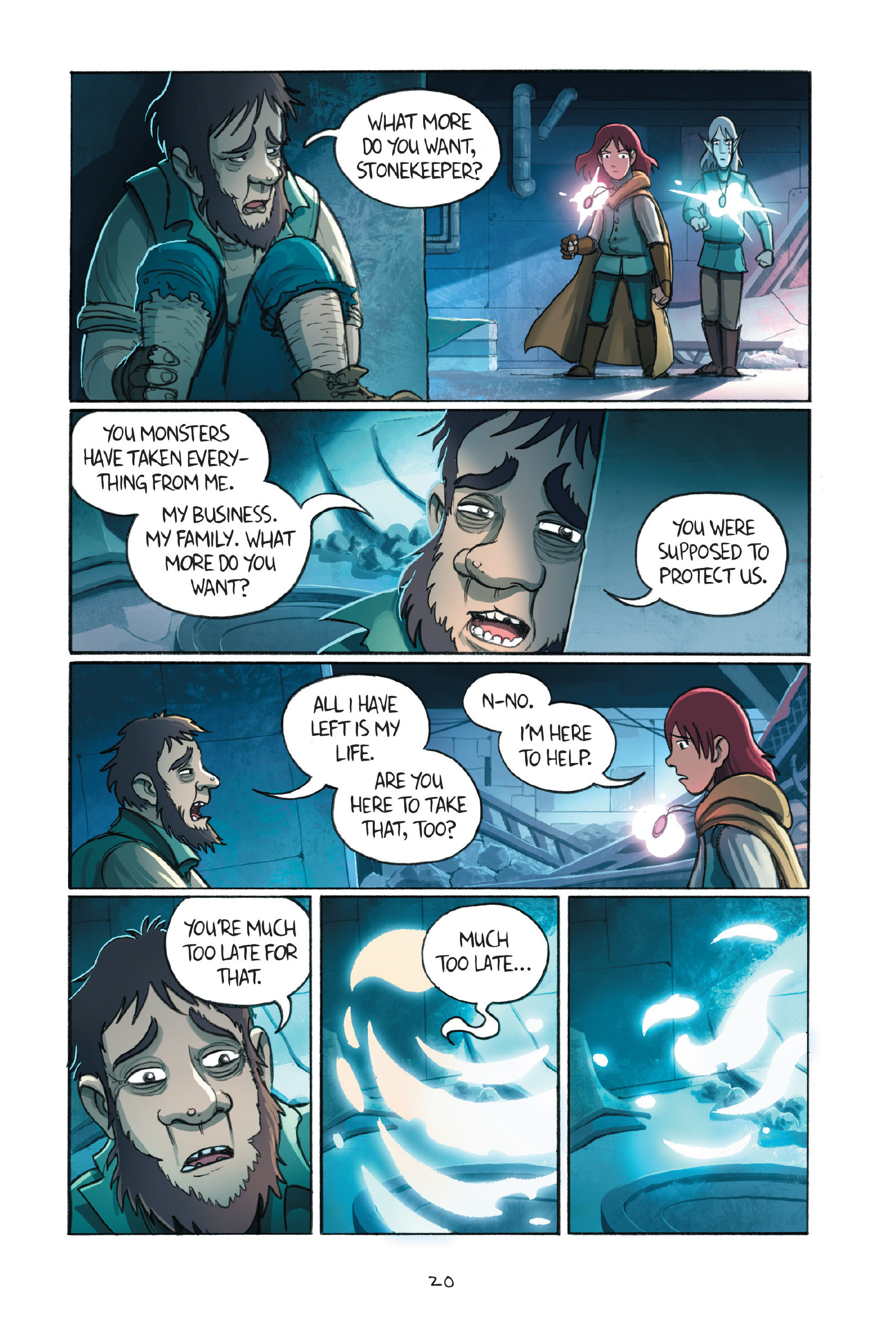 Read online Amulet comic -  Issue #7 - 23