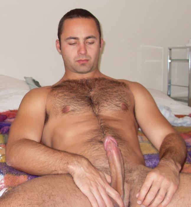 Hairy horny gay men