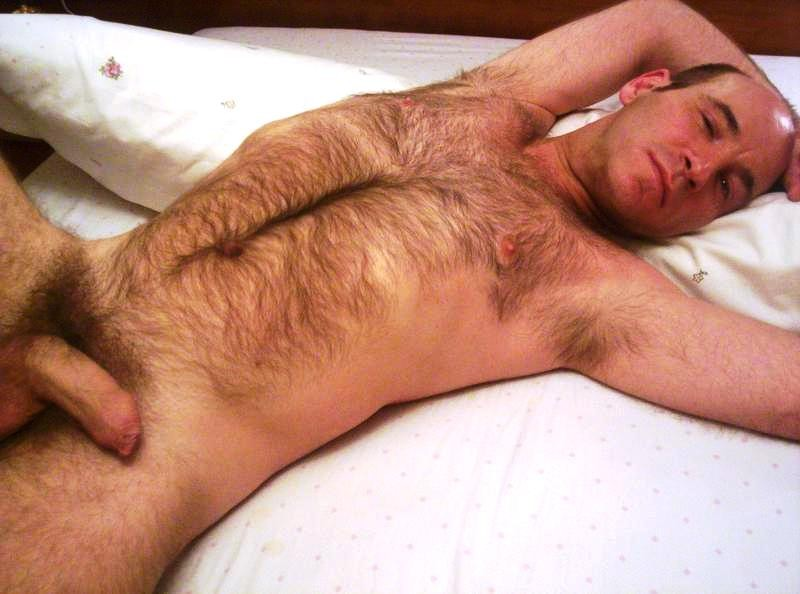Old naked men hairy