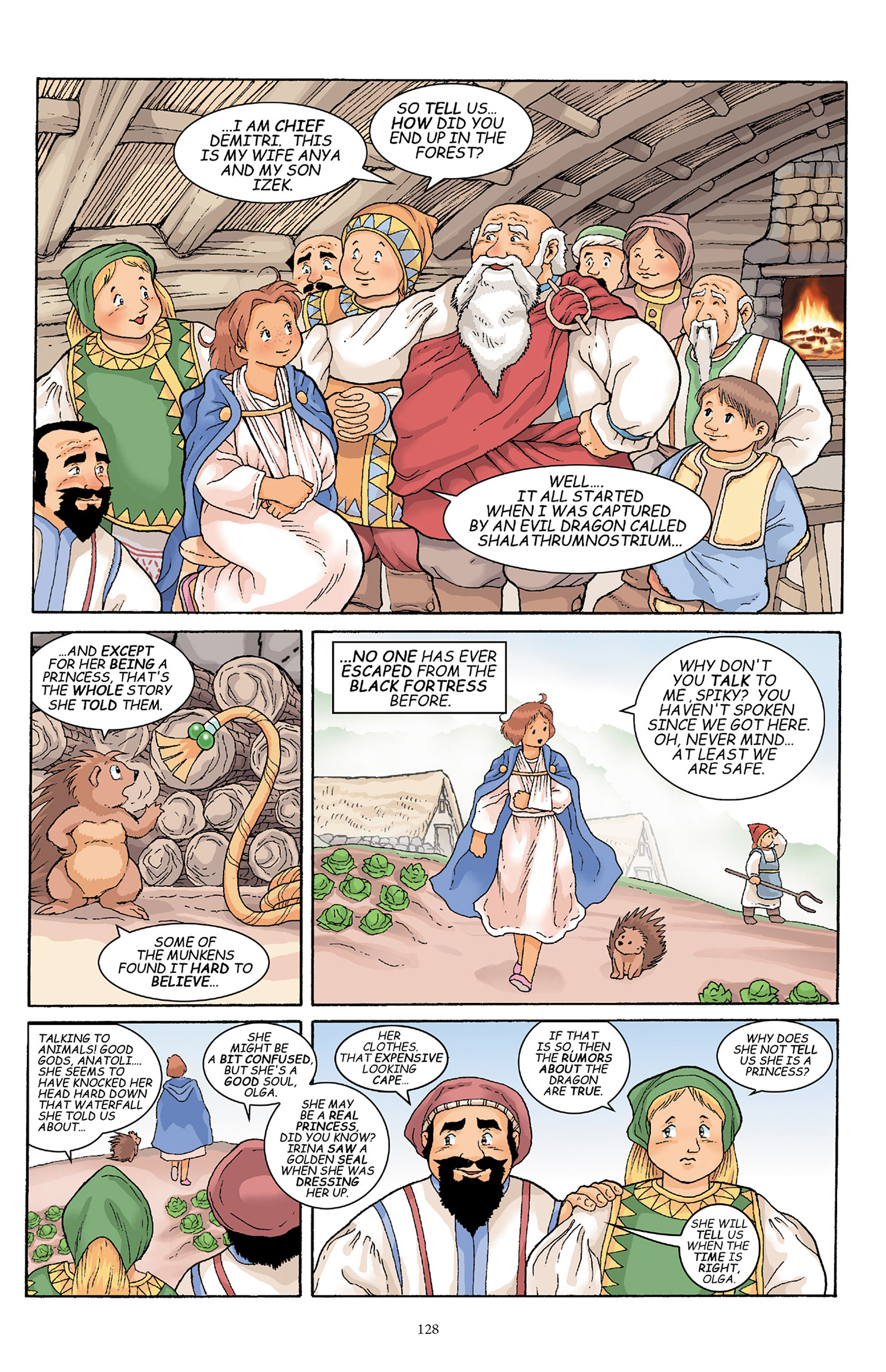 Read online Courageous Princess comic -  Issue # TPB 1 - 127