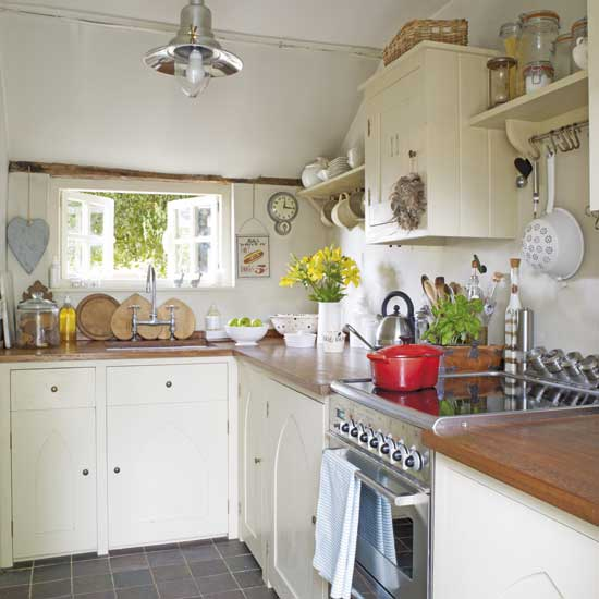 English Cottage Kitchen Designs: .Lilac Lane Cottage: Rainy Days = Kitchen Dreams