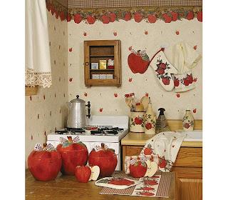 The sunny sunflower house apple themed kitchen - Kitchen decor theme ideas ...