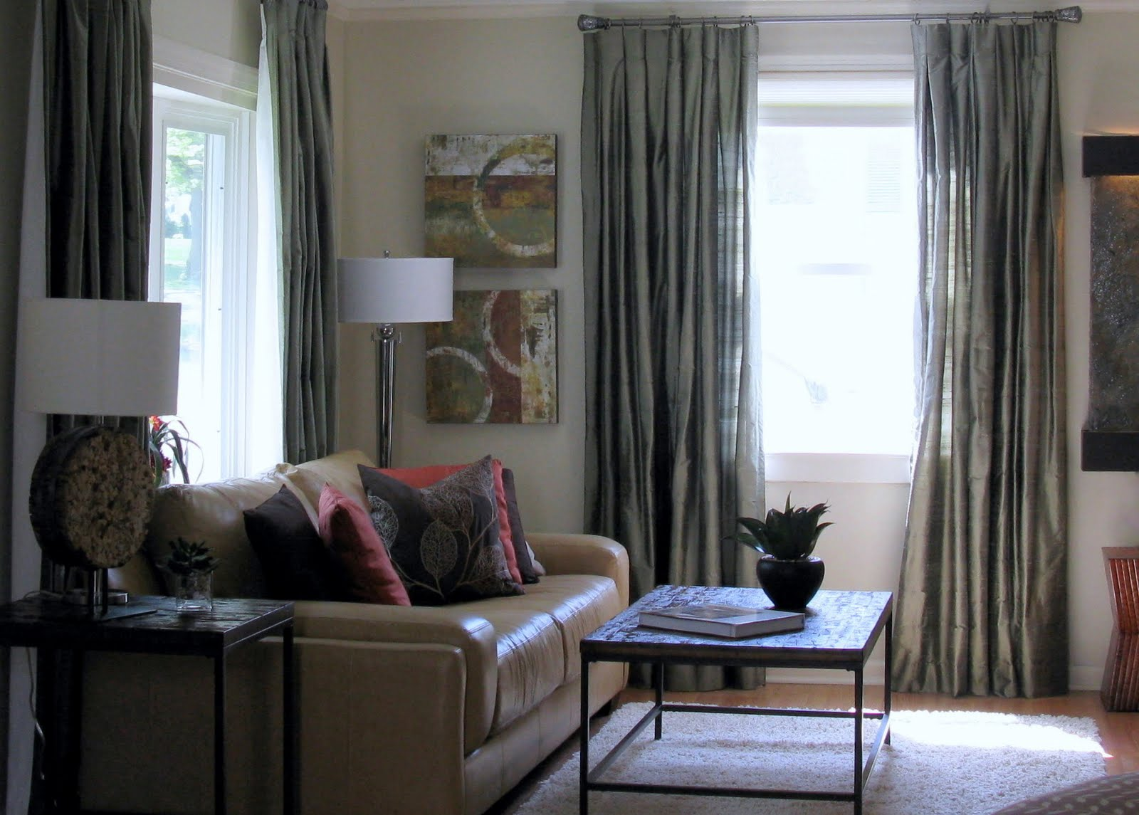 LoveYourRoom: Small Awkward Living Room Becomes Beautiful