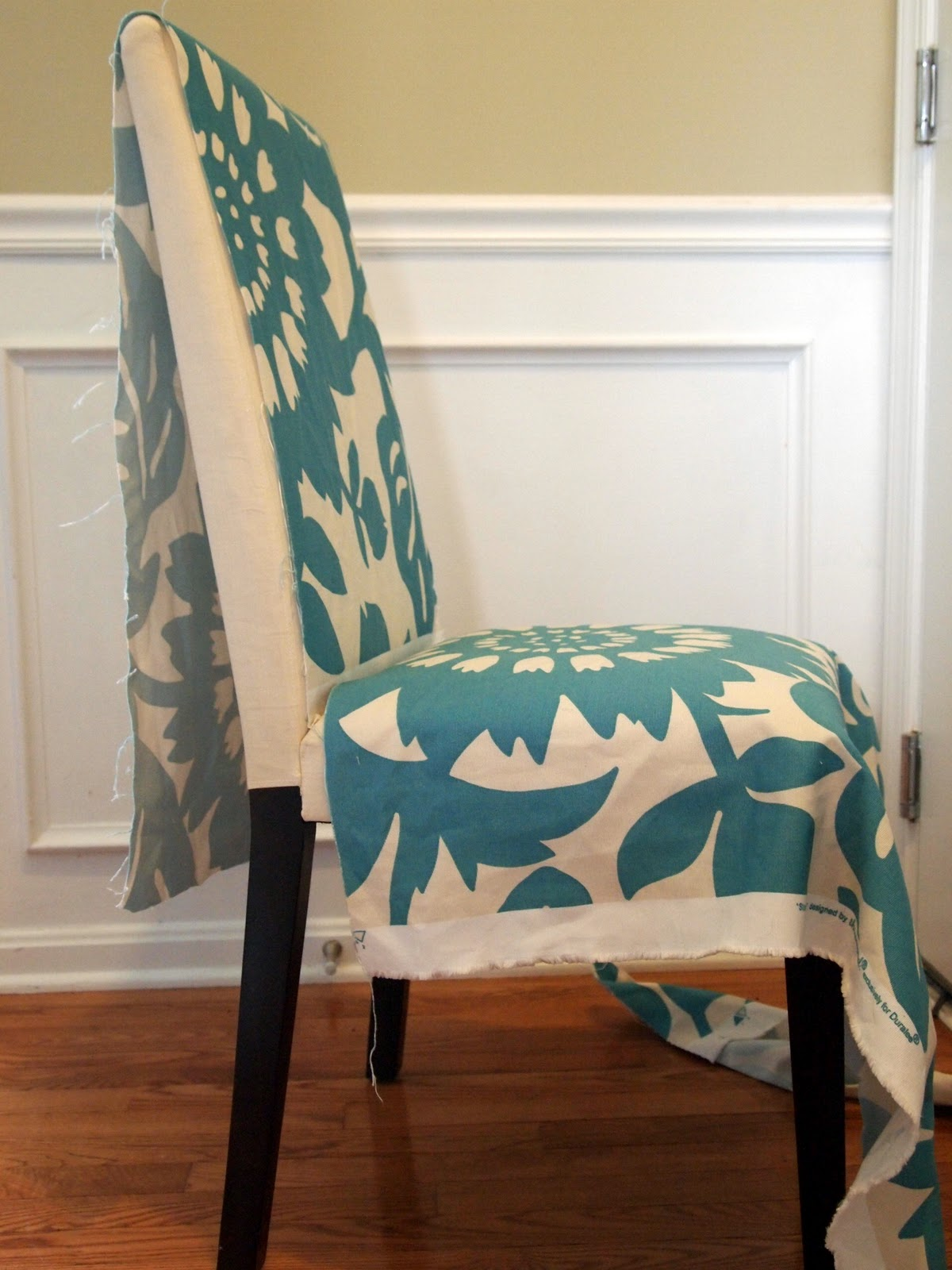 LoveYourRoom My Morning Slip Cover Chair Project Using