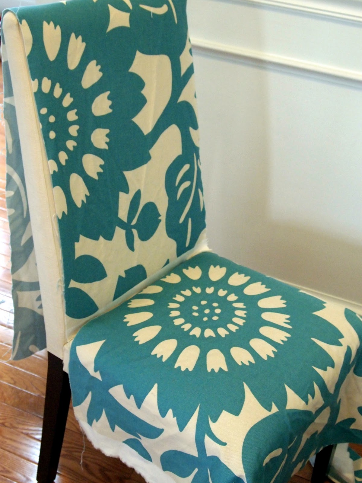 Fabric Chair Covers Loveyourroom My Morning Slip Cover Chair Project Using