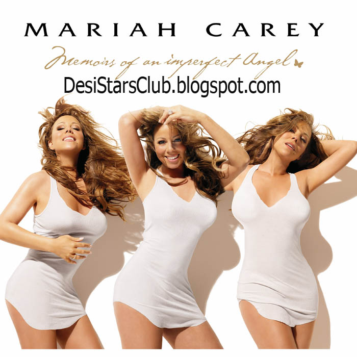 Mariah Carey Photoshoot in Memoirs of an Imperfect Angel