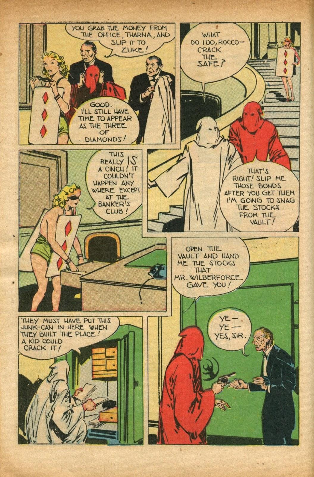 Read online Super-Magician Comics comic -  Issue #51 - 12