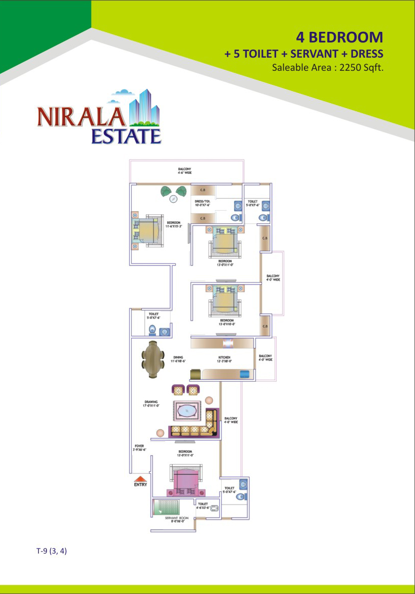 2250-sq.ft.-4bhk-floor-plan-Nirala-Estate