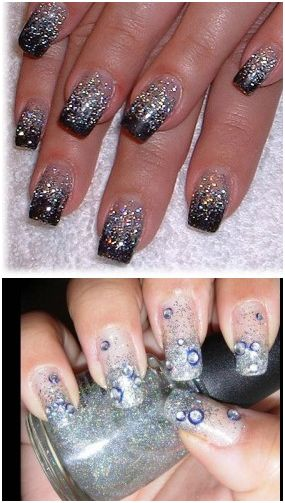 LifeStyle for Blondes: 2011 New Years Eve Nail Art and Eye ...