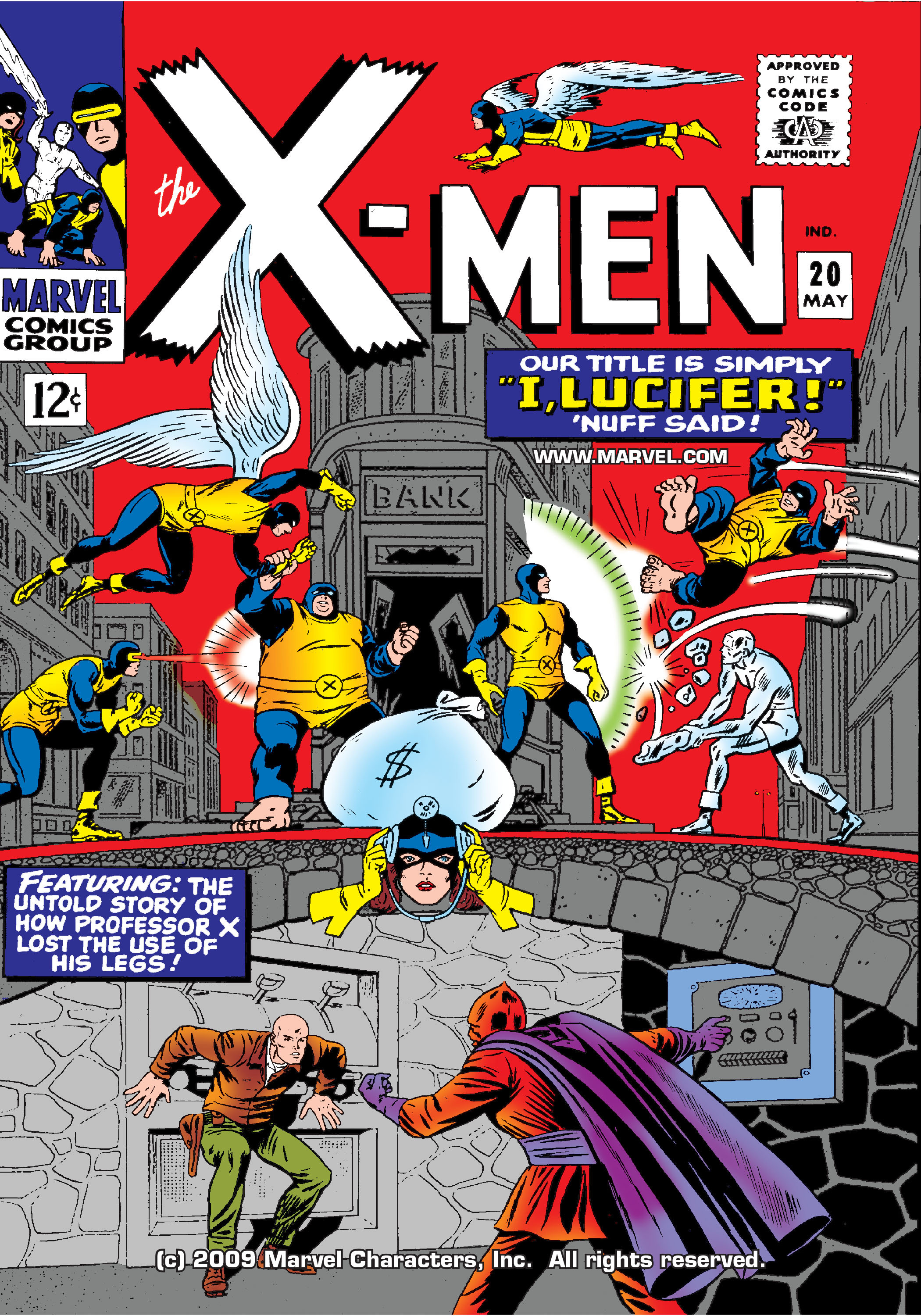 Read online Uncanny X-Men (1963) comic -  Issue #20 - 1
