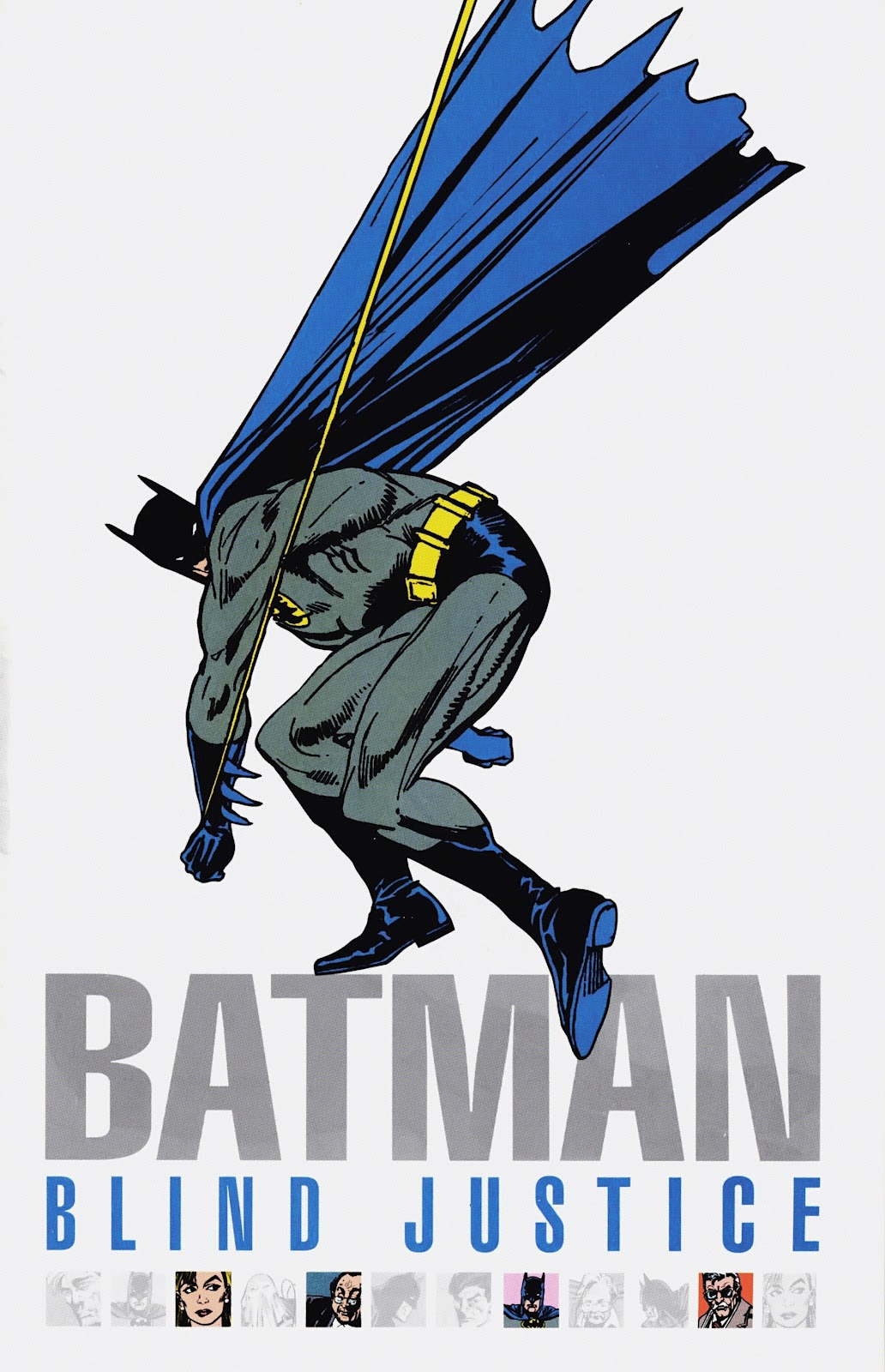 Read online Detective Comics (1937) comic -  Issue # _TPB Batman - Blind Justice (Part 1) - 2