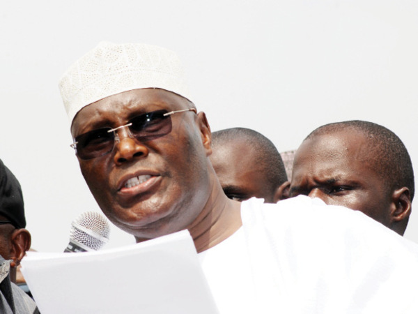 Image result for How Atiku Abubakar Flew To London In 2007 After Hurting His Knee