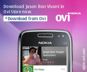 Life as a Bon Vivant: Nokia Ovi App - Jason Bon Vivant