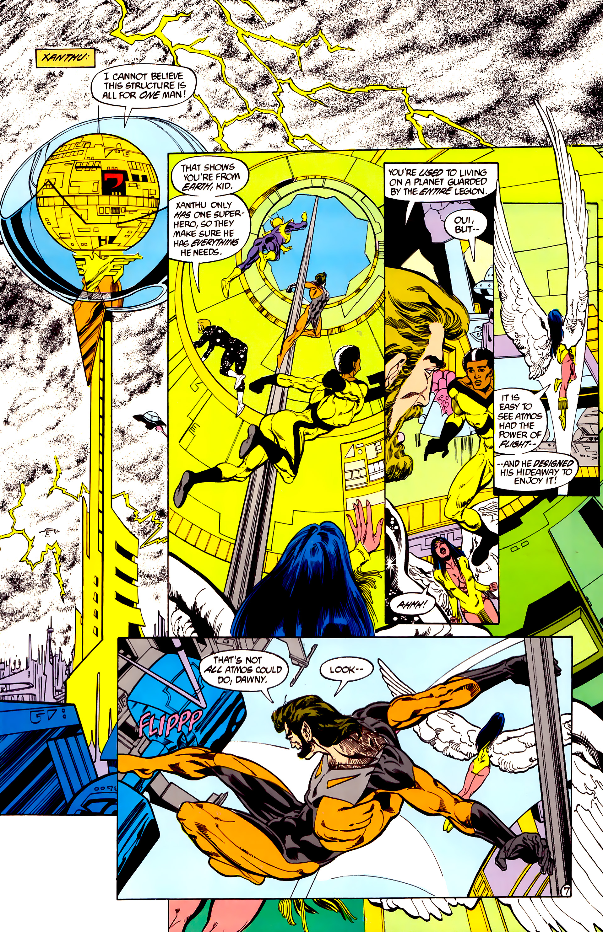 Legion of Super-Heroes (1984) 28 Page 8