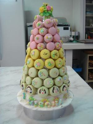 Yochana S Cake Delight Macaron Croquembouche