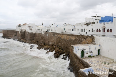 Assilah, a Maroccan seaside town