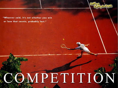 Motivational Wallpaper on Competition: Your Win or Loss Matters!