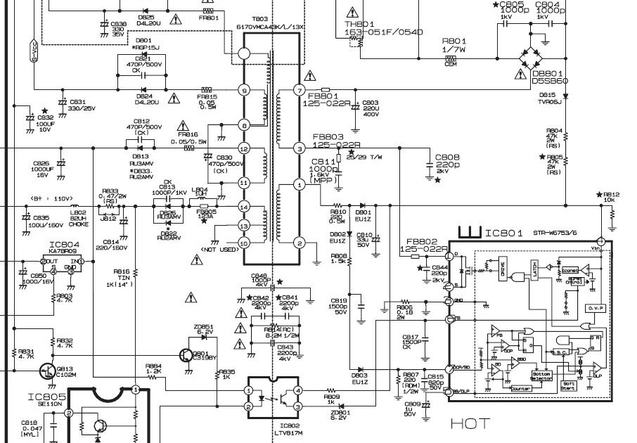 Service Manual Electronics: 21FA3RL_MC-059B