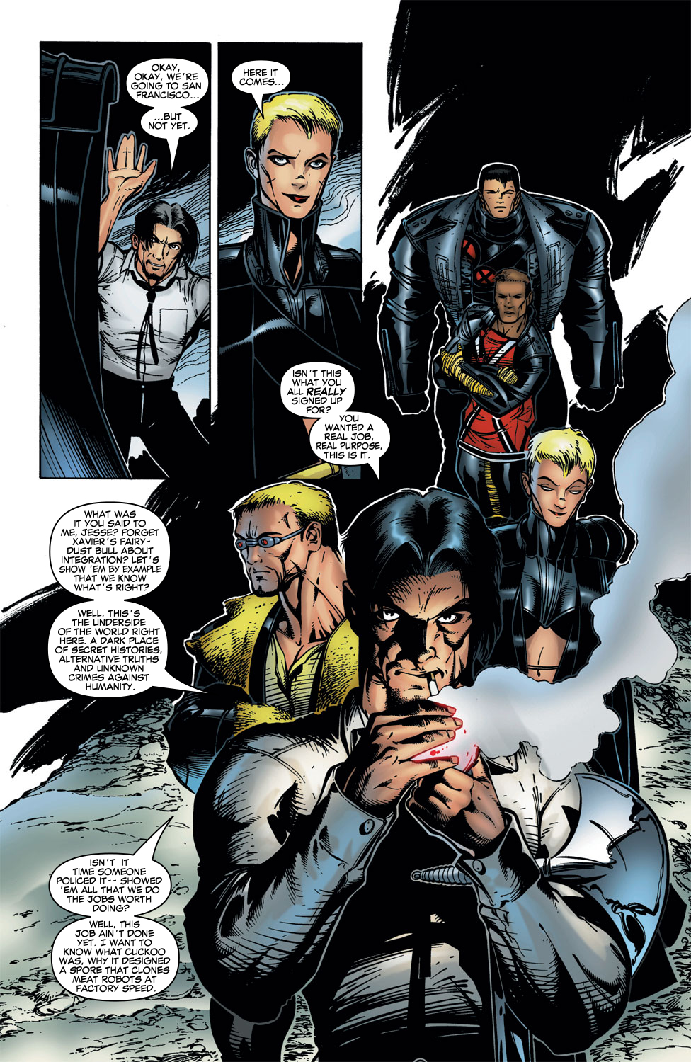 Read online X-Force (1991) comic -  Issue #102 - 20