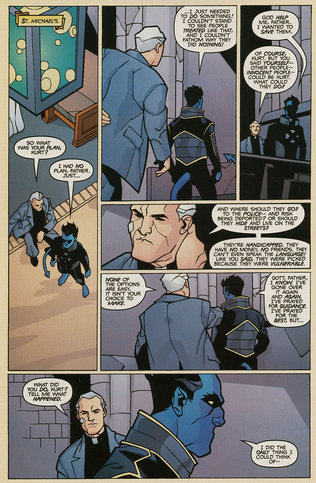 Read online Nightcrawler (2002) comic -  Issue #2 - 12